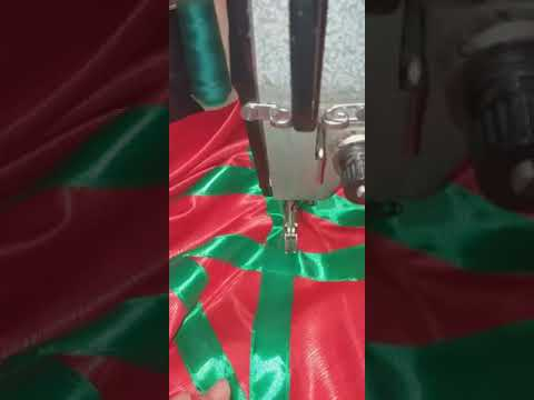 فراشة على شكل علم المغرب