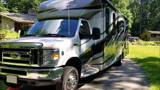 RV Walk Through Tour of Exterior of 2016 Forest River Forester GTS 2801 QS - Upgrades