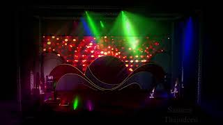 dancing stage music lighting
