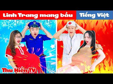 KHI LINH TRANG MANG BẦU 💕 Thu Hiền TV