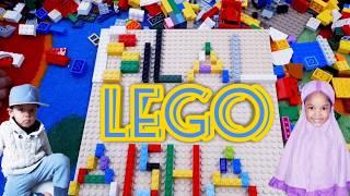 MAIN LEGO GRATIS | NAIK KERETA API TUT TUT TUT | LAGU POPULER ANAK INDONESIA