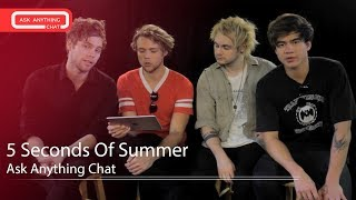 Download 5 Seconds Of Summer Interactive Chat w/ Romeo Saturday Night Online ‌‌ - AskAnythingChat MP3 song and Music Video