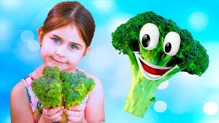 Yes Yes Vegetables Song Nursery Rhymes & Kids Songs by Globiki