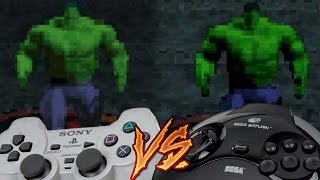 PlayStation Vs Sega Saturn - The Incredible Hulk: The Pantheon Saga