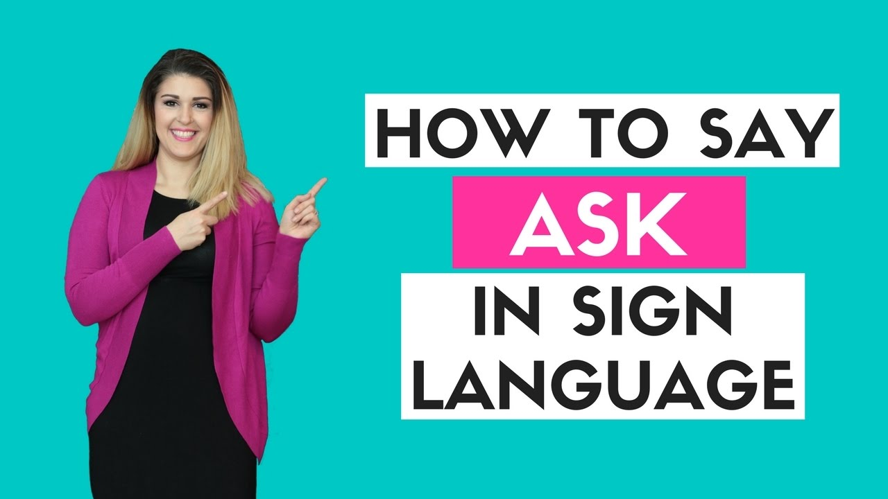 How to ask for a blowjob in sign language