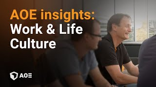 Work & Life Culture at AOE - the open web company