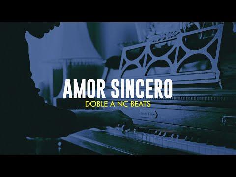 AMOR SINCERO – Beat Instrumental Rap Romantico Piano 2021 Base Pista – Doble A nc Beats
