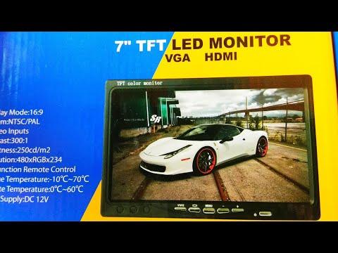LCD авто монитор AOSHIKE / Lcd Auto Monitor Aoshike