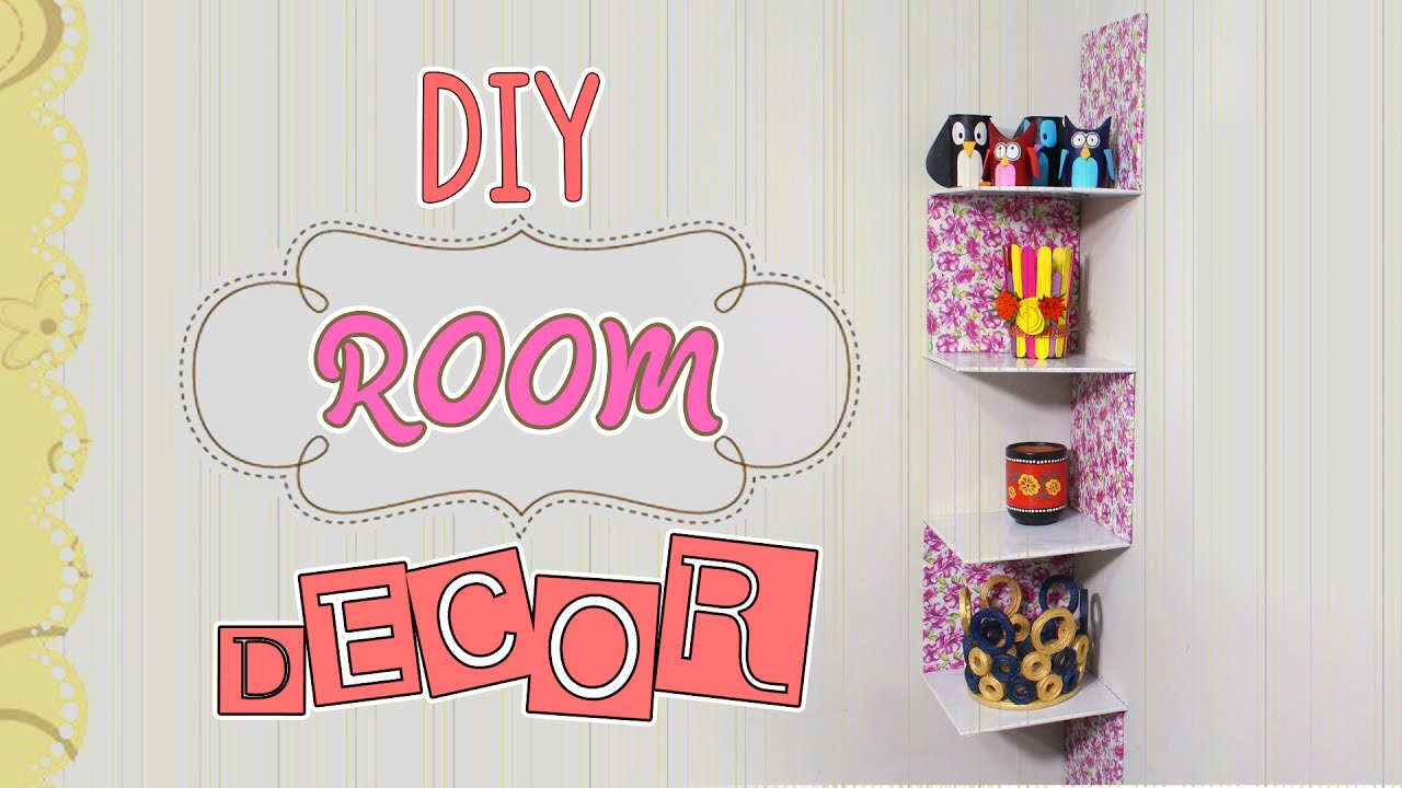 3 Minute Crafts Diy Room Decor With Cardboard Boxes Easy Ideas