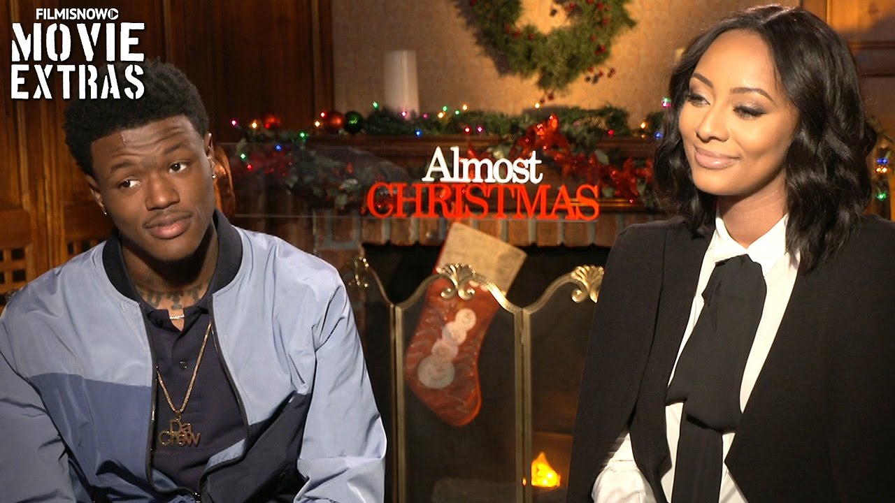 Almost Christmas Keri Hilson.Almost Christmas 2016 Keri Hilson D C Young Fly Talk About Their Experience Making The Movie