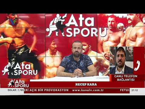 Ata Sporu   Kanal V   Antalya'nın Güreş Programı