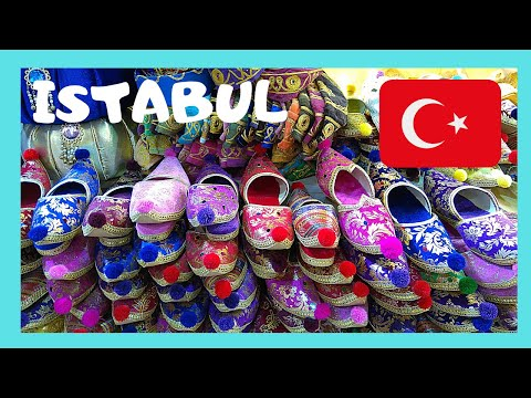 EXPLORING ISTANBUL: The world famous and historic GRAND BAZAAR, TURKEY