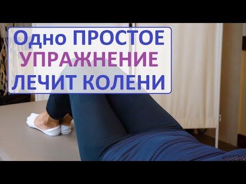 Чтобы колени не болели упражнения