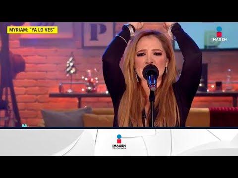 ¡Myriam Montemayor canta 'Irracional' en el foro! | De Primera Mano