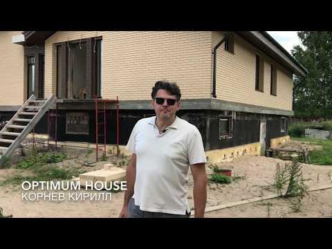 Облицовочный кирпич и каркасный дом