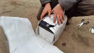 разряжается АКБ зимой, утепление  аккумулятора на зимний период