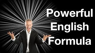 Speak English Powerfully | This Is The Formula