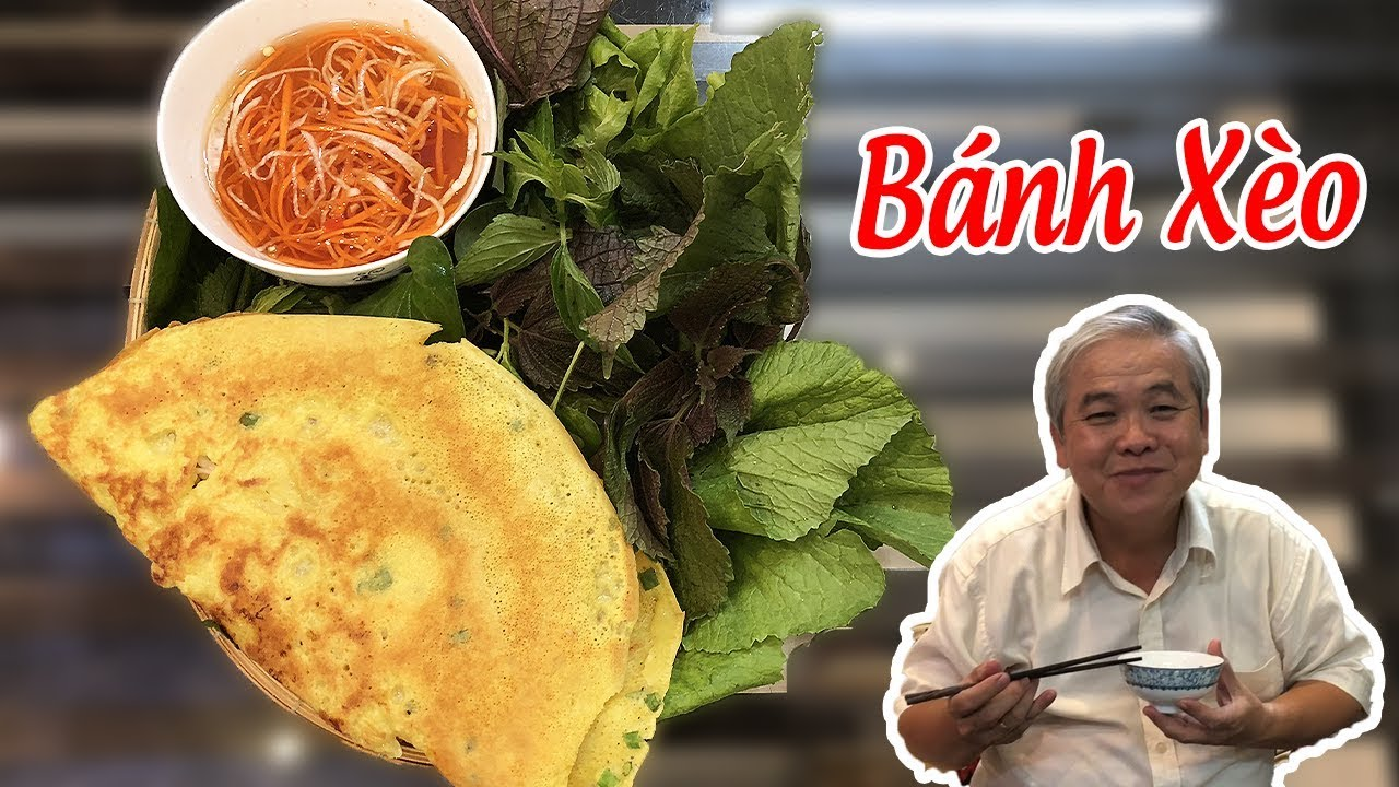 🔥 Cách Làm BÁNH XÈO Miền Tây Giòn Giòn Thơm Ngon ★ Vietnamese Pancake