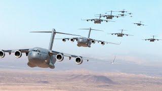 كمية مجنونة من طائرات الشحن العملاقة تغزو سماء الولايات المتحدة