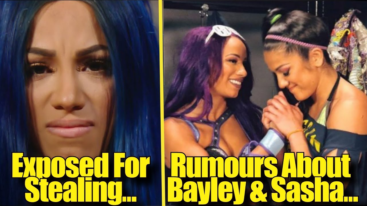 WILDEST Things Said About Sasha Banks... Rumours About Bayley & Sasha Banks...