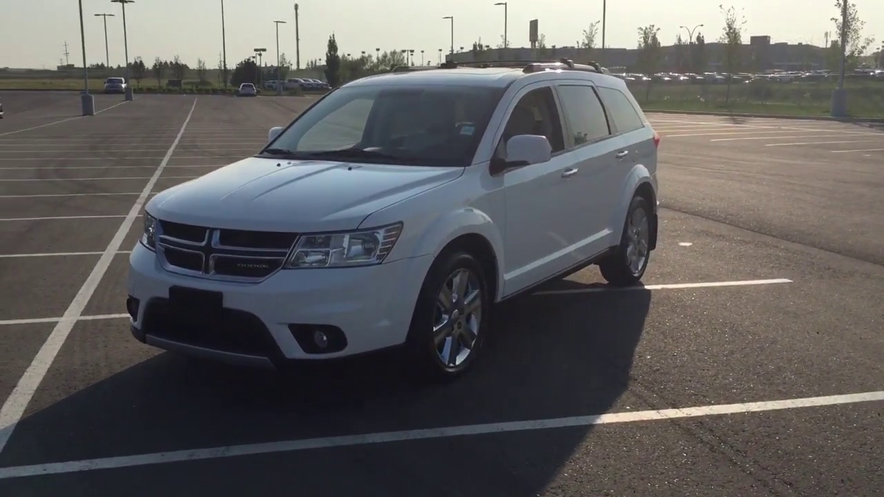 2012 Dodge Journey R T Review Youtube