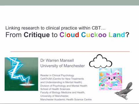 From a Critique of CBT to Cloud Cuckoo Land… or a New Dawn for Mental Health Services