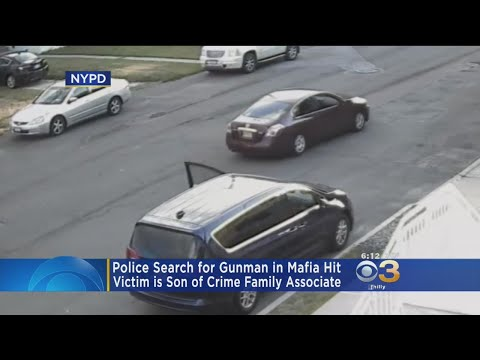 Attempted Mafia Hit Caught On Camera, Victim Is Son Of Crime Family Associate