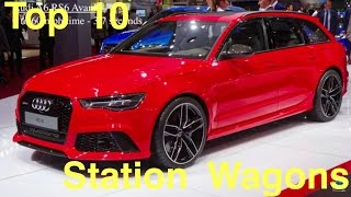 Top 10 Fastest Estate - Station Wagon Cars 2017