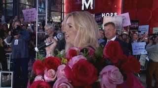 Britney Spears stops traffic in Las Vegas as she launches 'magical' Piece of Me residency