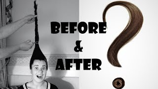 No more tangles - Haircut transformation!