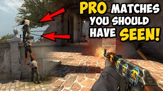 5 PRO MATCHES YOU SHOULD HAVE SEEN!