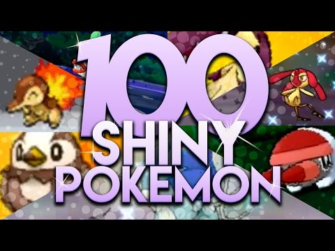 100 SHINY REACTION MONTAGE! | 2k Sub Special