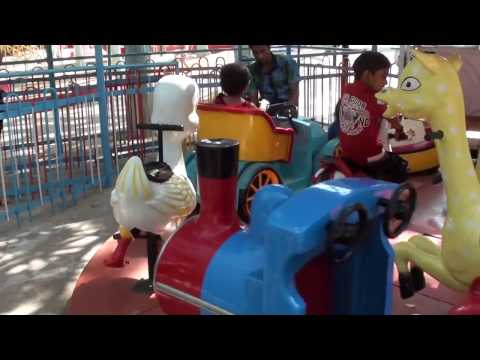 Kids Enjoying Rides in Essel World