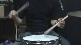 DB drag paradiddle NO2