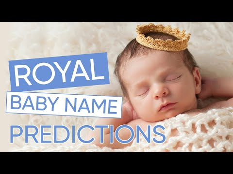 Top Royal Baby Name Predictions For Meghan & Harry Revealed