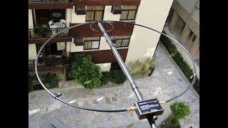 PY1AHD Alexloop walkham HF loop antenna