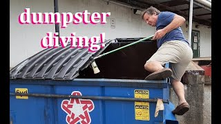 DUMPSTER DIVING WE HIT ALDI AND BIG LOTS ~ WE SCORED A LOT AND CRACKED UP A LOT! #SAVETHEDUMPSTERS
