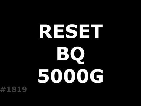 Hard Reset BQ 5000G Velvet Easy