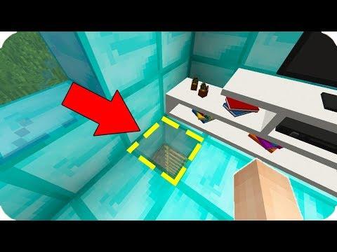FAKİR ZENGİN'İN EVİNDE GİZLİ GEÇİT BULDU! 😱 Minecraft