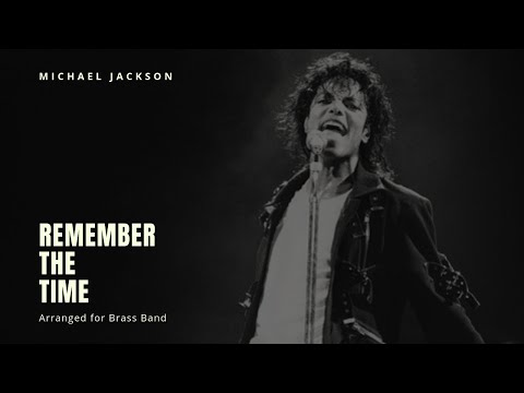 🎺 Remember The Time (Michael Jackson)  - Brass Band Sheet Music