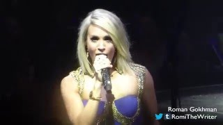 "Carrie Underwood, ""Dirty Laundry"" - Oakland - April 10, 2016"