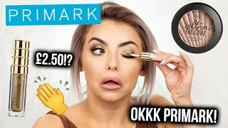 TESTING NEW PRIMARK MAKEUP! WHAT U NEED...AND WHAT U DON'T. FIRST IMPRESSIONS, REVIEW + TUTORIAL!