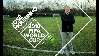 Legendary football coach José Mourinho joins RT's 2018 World Cup Coverage