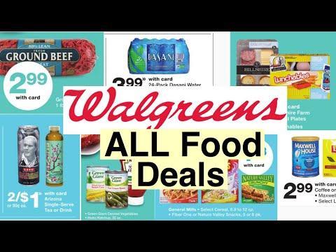Walgreens ALL Food Deals I Cheap Essentials I Using 25% Off Coupon I 4/12-18/2020