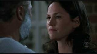 CSI 7 x 17 Fallen Idols, Shaving scene