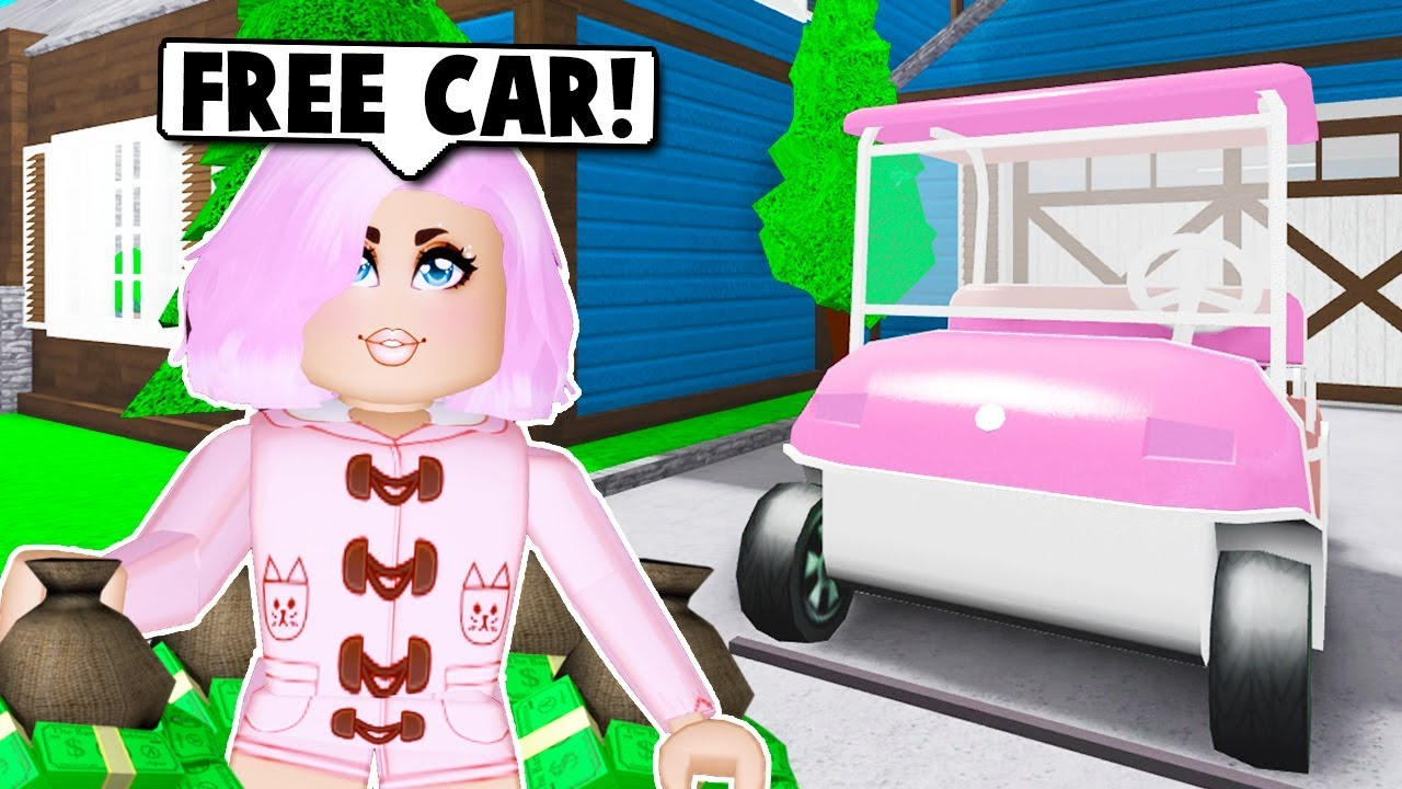 How To Get A Free Golf Cart In Bloxburg New Playground Update