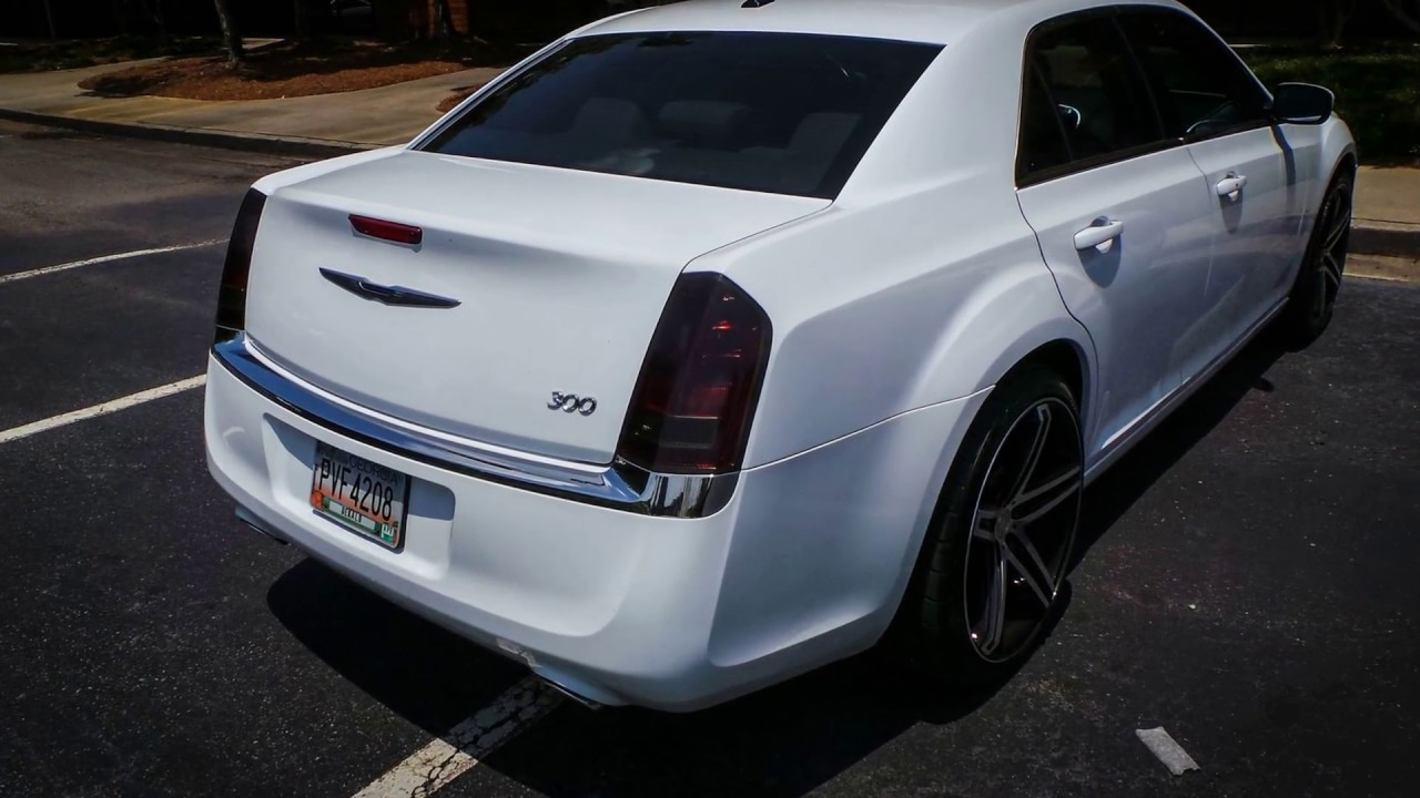 Chrysler 300srt >> Chrysler 300 | Oracal Dark Gray Tail Light Tint - YouTube