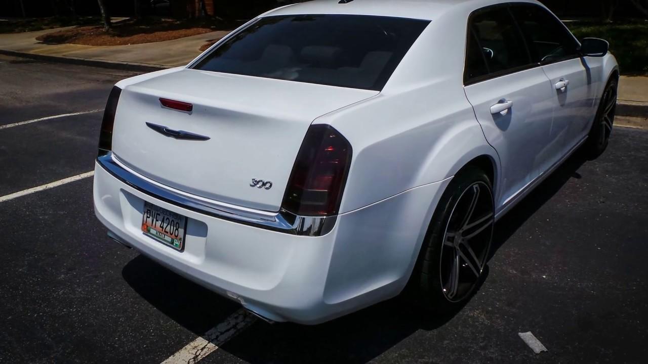 Chrysler 300 Oracal Dark Gray Tail Light Tint
