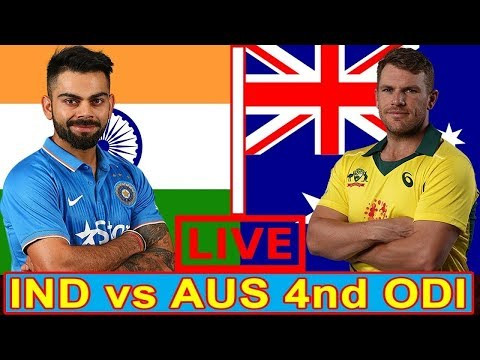 Live Cricket Streaming India Vs Australia, 4th ODI