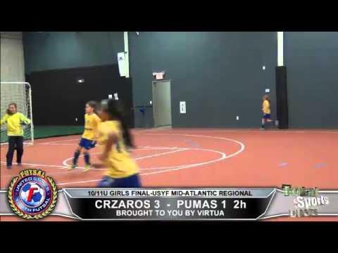 Girls U10/11 United States Youth Futsal Mid Atlantic Regiona